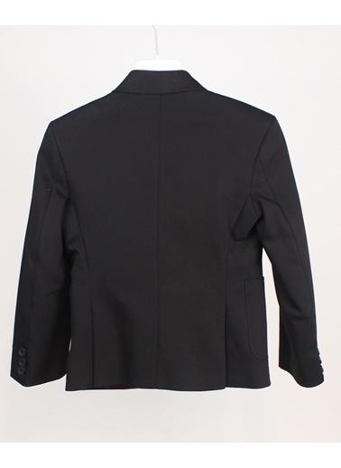 Doctor Junior Doctor Junior Dr2157 Kanvas Kesim Erkek Çocuk Spor Ceket Siyah